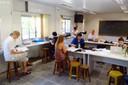 Participantes trabalham durante o Mooc - 07/03/2017