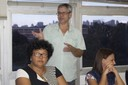Edilma Martins, Aziz Salém e Marli Pedro