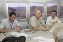 Rafael Borsanelli, Martin Grossmann e Eduardo Saron
