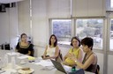 Andréa Filgueiras, Denise Chaer, Ana Lydia Sawaya e Semiramís Martins Álvares Domene