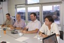 Alexander Turra, José Pedro de Oliveira Costa, Evandro Mateus Moretto e Célio Bermann