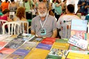 Pablo Mariconda no stand da Revista Scientiae Studia na 17a. Feira do Livro da USP 2015