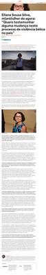 Entrevista de Eliana Sousa Silva sobre a posse como titular da Cátedra Olavo Setubal